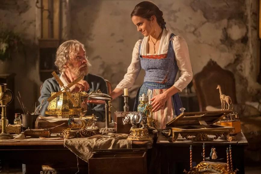 la bella e la bestia Belle e suo padre