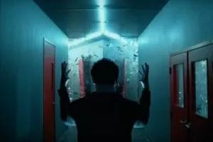 Legion David Haller distrugge con i suoi poteri l'illusione di Lenny