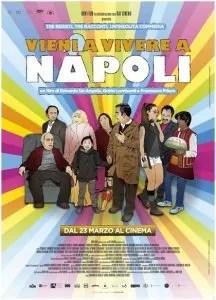 Vieni a vivere a Napoli locandina film