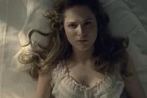 Westworld Dolores interpretata da Evan Rachel Wood