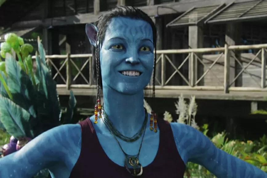 Avatar Sigourney Weaver in una scena del film