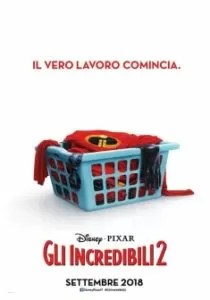 Gli Incredibili 2 - Poster italiano
