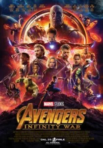 Avengers: Infinity War - poster italiano