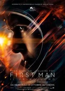 First Man - Il primo uomo poster ita