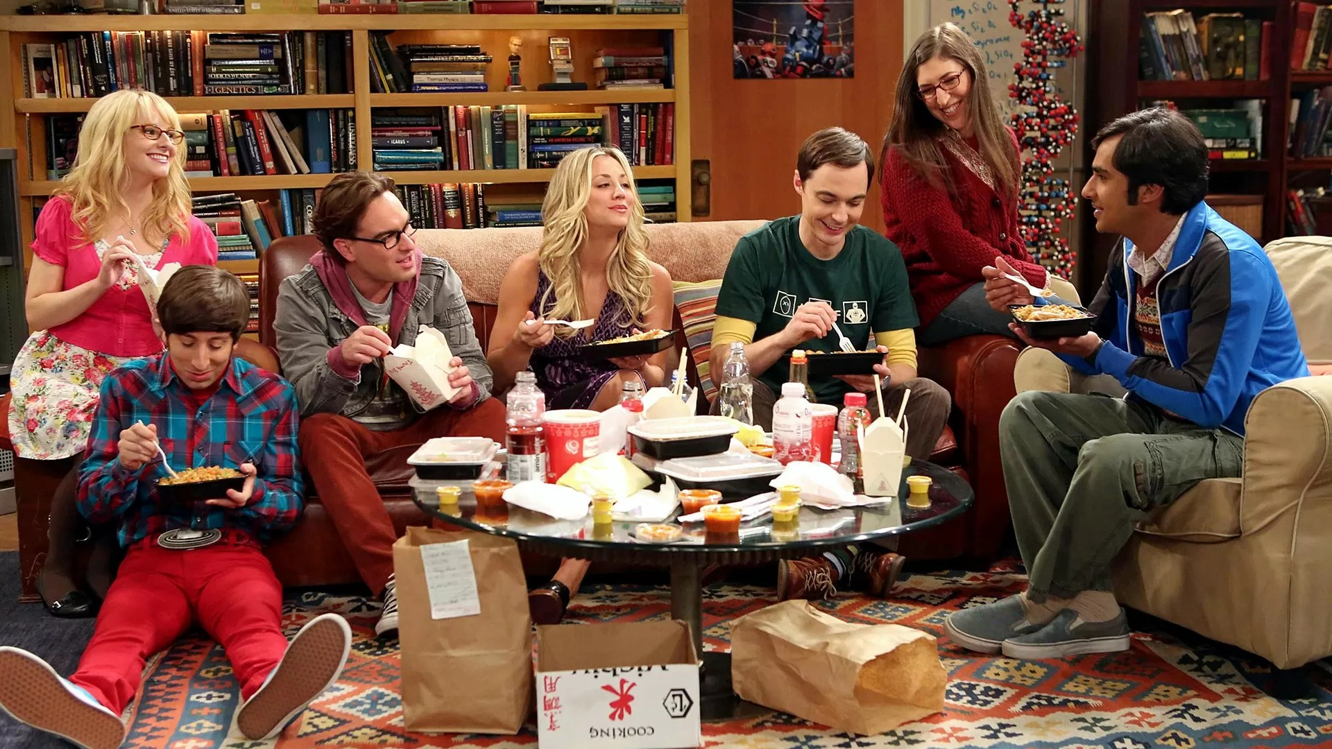 The Big Bang Theory protagonisti