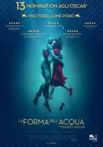 La forma dell'acqua - Locandina italiana