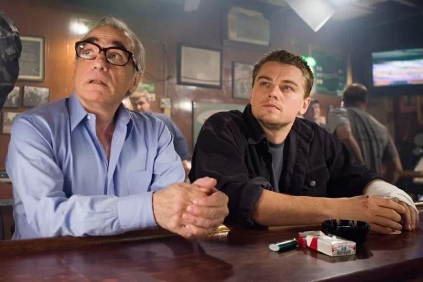 Leonardo DiCaprio e Martin Scorsese lavor
