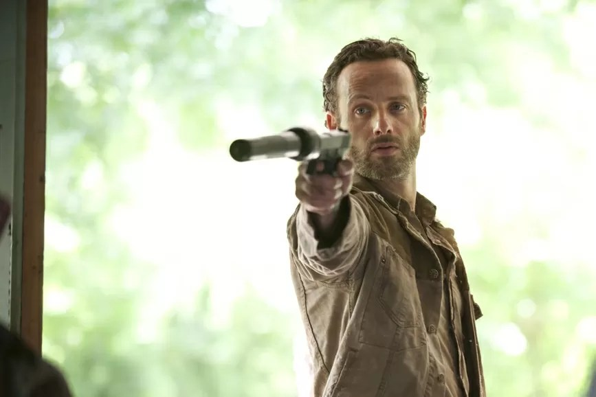 """Andrew Lincoln """"The Walking Dead"""""""
