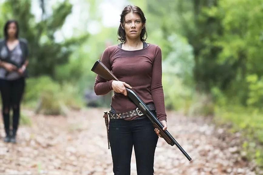 The Walking Dead scena