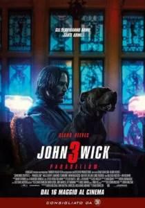 John Wick 3: Parabellum poster ita