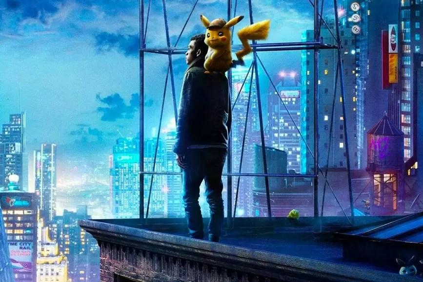 Pokémon - Detective Pikachu scena film