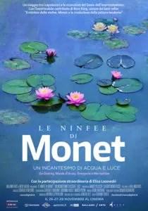 Le Ninfee di Monet - Un incantesimo di acqua e luce poster