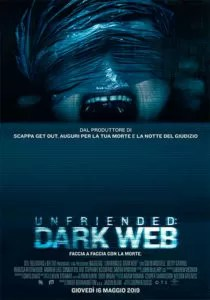 Poster Unfriended Dark Web