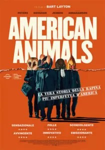 American Animals locandina definitiva