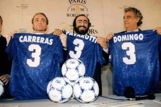 Pavarotti: Ron Howard e Nigel Sinclair incontrano la stampa