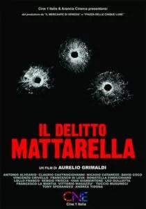 Il delitto Mattarella poster