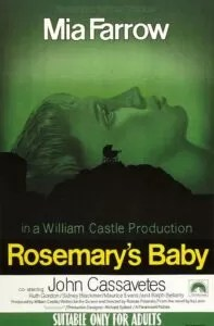 Rosemary's Baby - Nastro rosso a New York poster