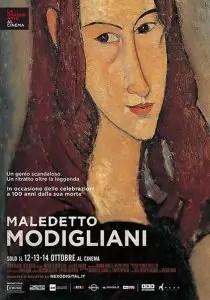 Maledetto Modigliani Locandina