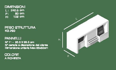 Tavolo tipo 1