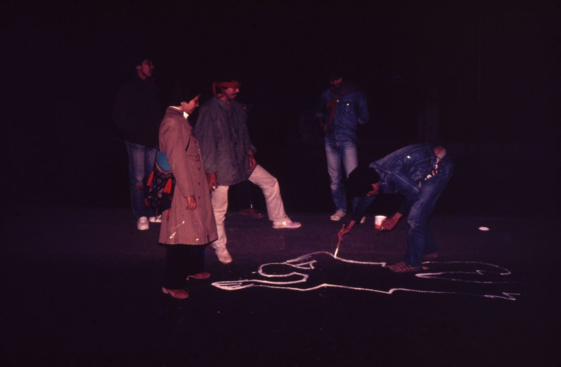 Arahmaiani, Accident (1980)