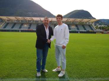 Gullo e Campello nello Stadio di Lugano