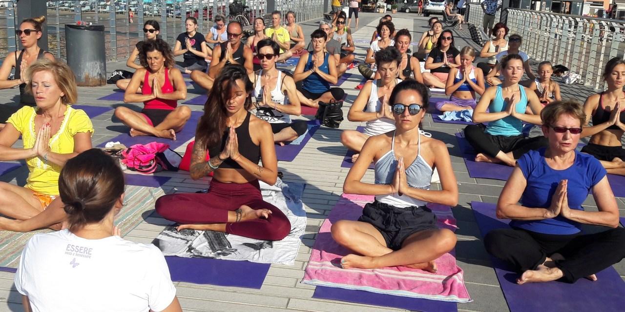 Alassio: tre mesi di Free Yoga Village e Alassio Summer Town