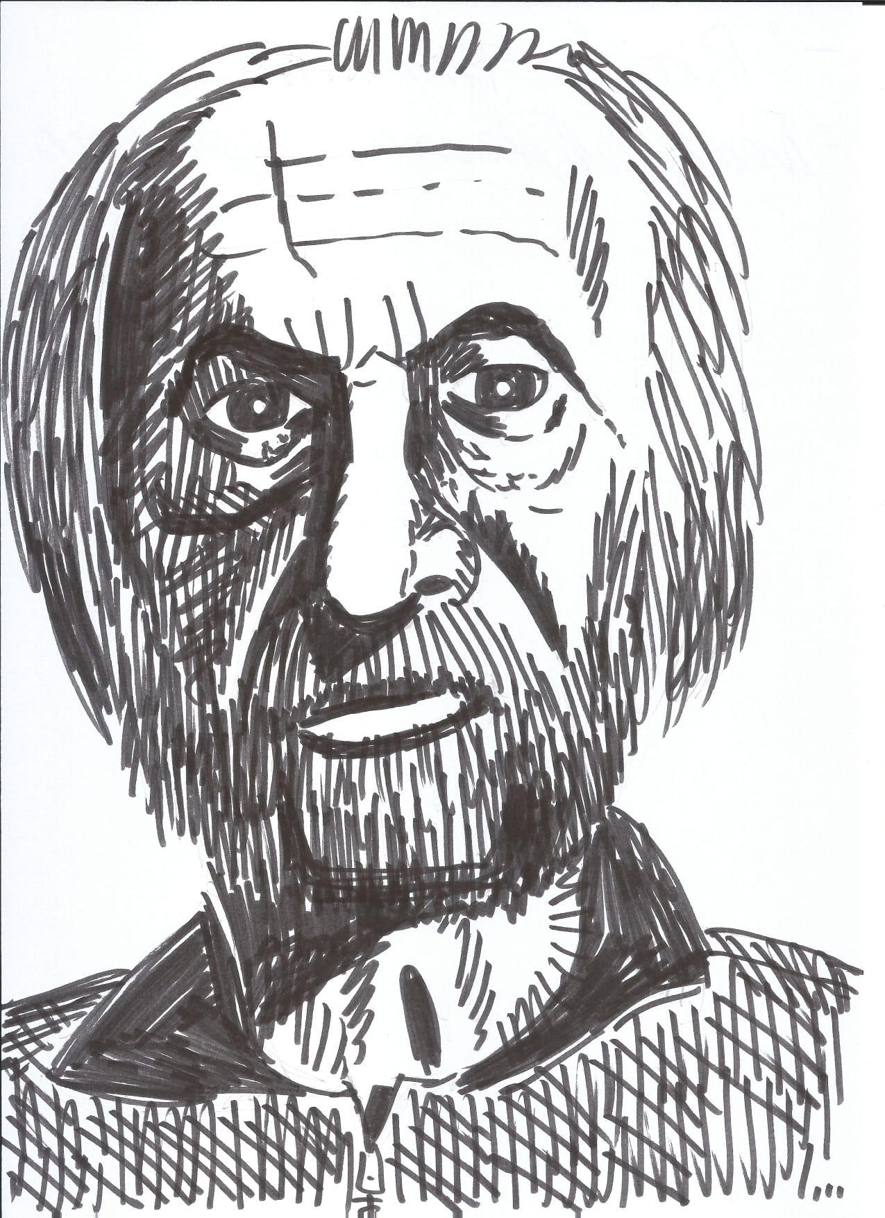 Beppe Ricci ritratto da Igor Belansky