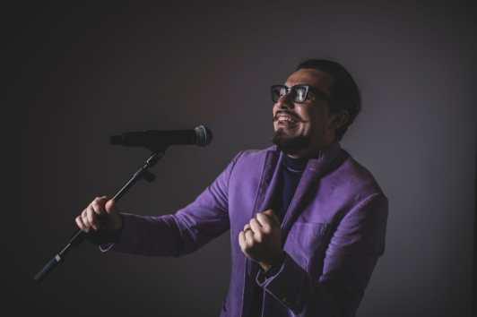 Lorenzo Vittorio Bonizzoni foto del cantautore