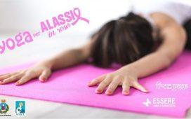 yoga-rosa-alassio-molo-gratuito-free-essere-benessere-lucia-ragazzi-esperienz-wellness-wellbeing-citta-donne-prevenzione-airc-tumori-social