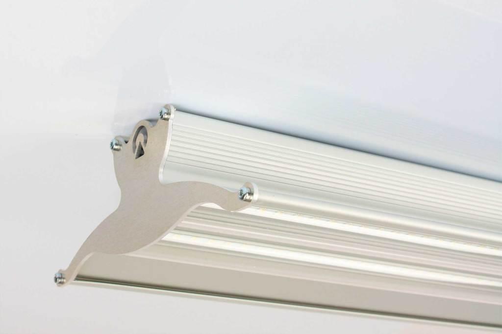 Plafoniere Led Per Capannoni : Video: presentazione delle plafoniere lineari ecoeasyled lampade e