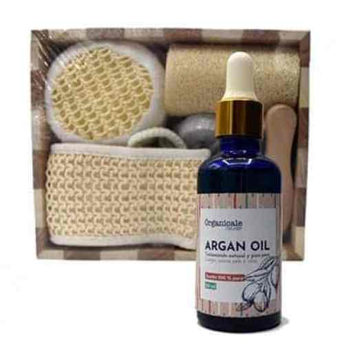 Set Spa + Aceite de Argán