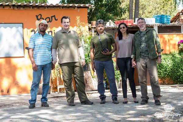 Ivanildo, Tiago D. (EF), e os fotógrafos Carlos, Katiene e Marinho de São Carlos.