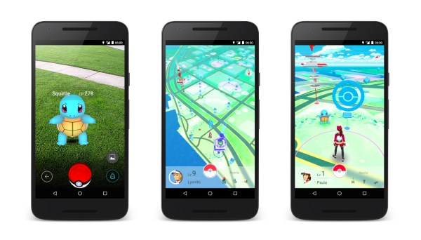 Telas do jogo Pokemon GO. Imagens ilustrativas da internet.