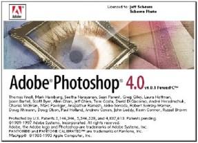 1996 - Adobe Photoshop versão 4.0
