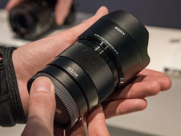 Adaptador 21mm (0.75x) para FE 28mm. (Foto divulgação)