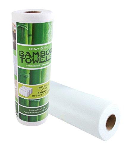Eco Product - Bamboo Kitchen Towel - Reusable - EcoFriendlyLink