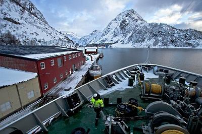 Hurtigruten cargo cruise ships