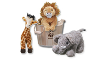Eco Friendly Christmas Gifts for Pets WWF african wildlife tub