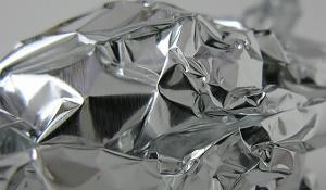 reuse aluminum aluminium foil