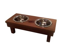 Eco Friendly Christmas Gifts for Pets - double feeder