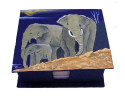 Eco Friendly Christmas Gifts for Pets elephant poo paper