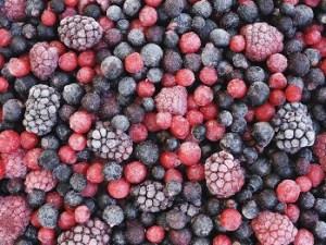 frozen fruit for breakfast smoothies