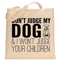 Eco Friendly Christmas Gifts for Pets resusable bag dont judge my dog gift