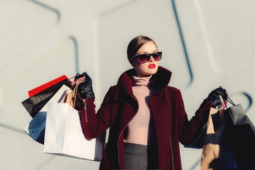 shopping buying green