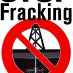stop fracking poster