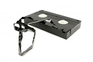 recycling facts - old video tapes