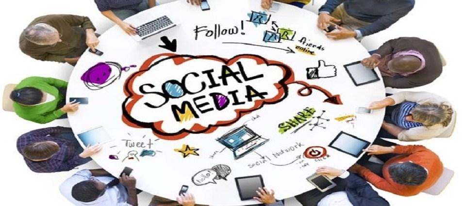 through social media