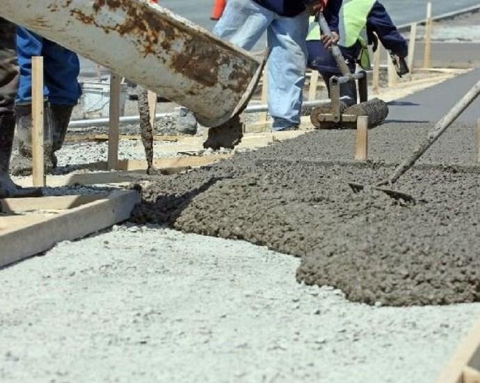 site mix concrete