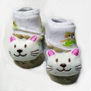 Cat baby booties
