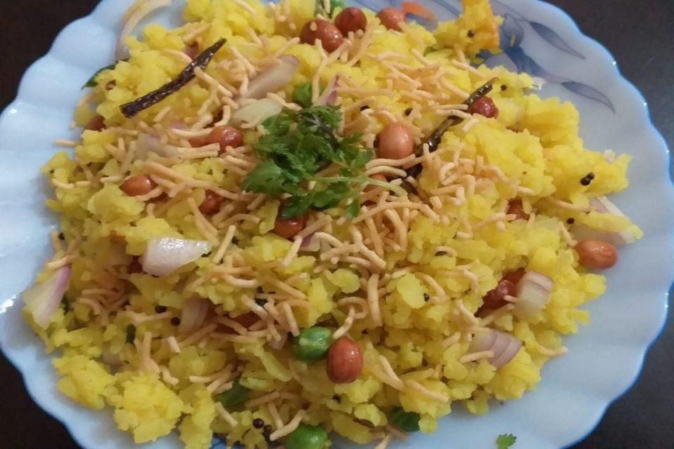 """""""Poha"""" Signature Meal Of India"""